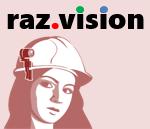 ウェアラブル通信システムraz.vision